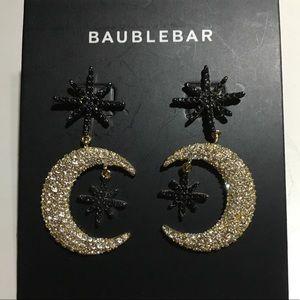 BaubleBar Star and Moon Earrings